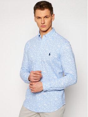 Polo Ralph Lauren Polo Ralph Lauren Hemd Knt 710823551001 Blau Regular Fit