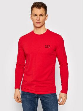 EA7 Emporio Armani EA7 Emporio Armani Тениска с дълъг ръкав 8NPT55 PJM5Z 1451 Червен Regular Fit