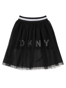 DKNY DKNY Sukně D33555 D Černá Regular Fit