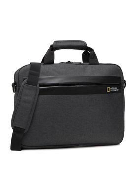 National Geographic National Geographic Taška na laptop Brief Case N13106.89 Sivá