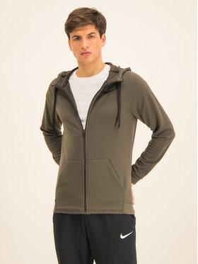 NIKE NIKE Džemperis Dry Hoodie Fz Fleece 860465 Žalia Standard Fit