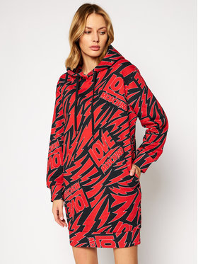 LOVE MOSCHINO LOVE MOSCHINO Džemper haljina W5B2400M 4249 Šarena Regular Fit