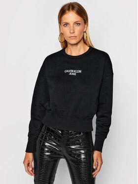 Calvin Klein Jeans Calvin Klein Jeans Mikina J20J214431 Černá Regular Fit
