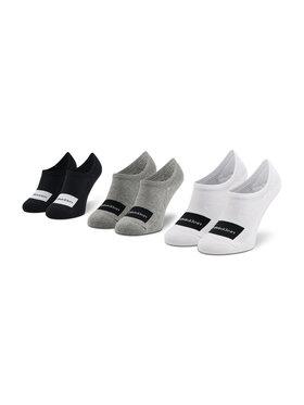 Calvin Klein Calvin Klein Sada 3 párů kotníkových ponožek unisex 100001776 Barevná