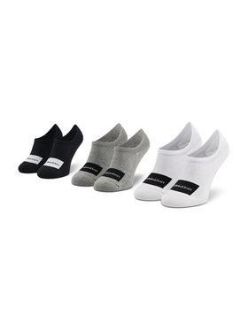 Calvin Klein Calvin Klein Set od 3 para unisex visokih čarapa niskih čarapa 100001776 Šarena