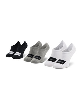 Calvin Klein Calvin Klein Unisex pėdučių komplektas (3 poros) 100001776 Spalvota
