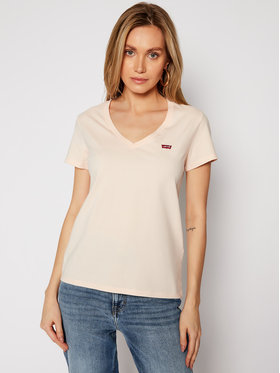 Levi's® Levi's® T-Shirt The Perfect Tee 85341-001 Różowy Regular Fit