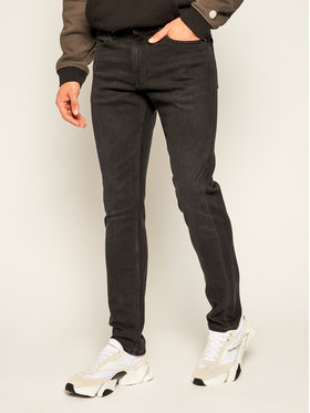 Calvin Klein Jeans Calvin Klein Jeans Prigludę (Slim Fit) džinsai J30J307731911 Juoda Slim Fit