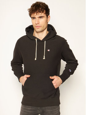 Champion Champion Sweatshirt Reverse Weave Hoodie 214675 Schwarz Custom Fit