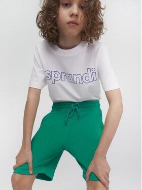 Sprandi Sprandi Sport rövidnadrág SS21-SHB001 Zöld Regular Fit