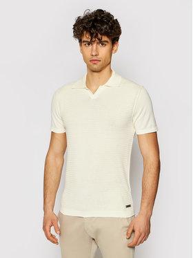 Baldessarini Baldessarini Polo marškinėliai B4 50004/5046/1015 Smėlio Regular Fit
