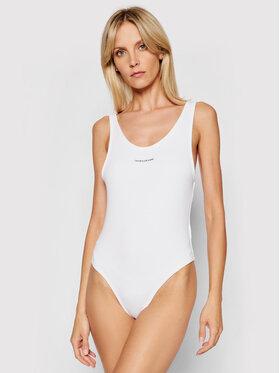 Calvin Klein Jeans Calvin Klein Jeans Bodi J20J215696 Bijela Slim Fit