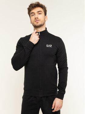 EA7 Emporio Armani EA7 Emporio Armani Sweatshirt 8NPM01 PJ05Z 1200 Schwarz Regular Fit