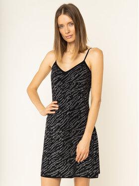 MICHAEL Michael Kors MICHAEL Michael Kors Koktel haljina Zebra Studded MF98Z5X03G Crna Slim Fit