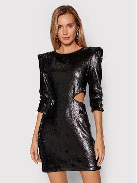 Rage Age Rage Age Koktejlové šaty Daphne 2 Čierna Slim Fit