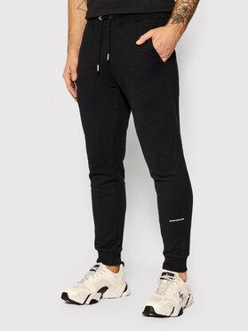 Calvin Klein Jeans Calvin Klein Jeans Долнище анцуг J20J215518 Черен Slim Fit