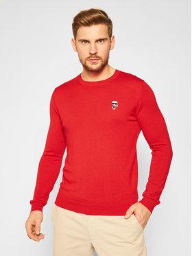 KARL LAGERFELD KARL LAGERFELD Sweter Knit 655013 502399 Czerwony Regular Fit