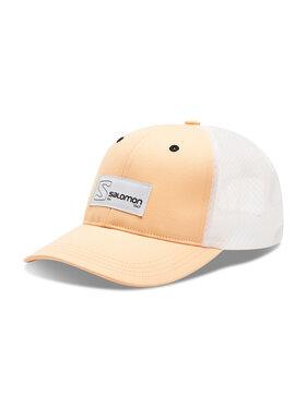 Salomon Salomon Czapka z daszkiem Trucker Curved Cap C14655 17 G0 Pomarańczowy