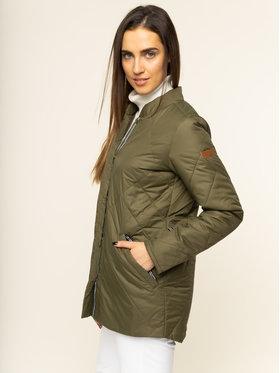Roxy Roxy Parka Amy 3in1 Longline ERJJK03283 Zelená Tailored Fit