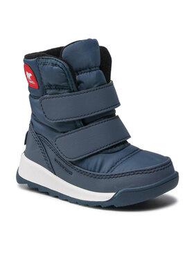 Sorel Sorel Śniegowce Toddler Whitney™ II Strap Wp NV3919 Niebieski