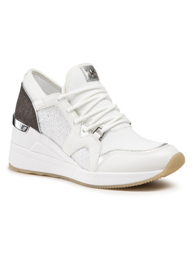 MICHAEL Michael Kors MICHAEL Michael Kors Sneakersy Liv Trainer 43S1LVFS2D Biały