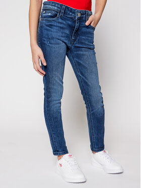 Calvin Klein Jeans Calvin Klein Jeans Blugi IG0IG00654 Bleumarin Skinny Fit