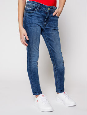 Calvin Klein Jeans Calvin Klein Jeans Дънки IG0IG00654 Тъмносин Skinny Fit