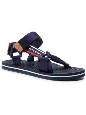 Pepe Jeans Pepe Jeans Sandále Pool Basic Men PMS90081 Tmavomodrá