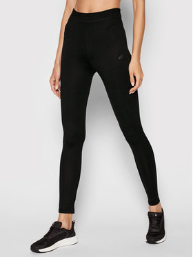 4F 4F Leggings H4L21-LEG010 Noir Slim Fit