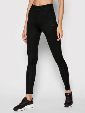 4F 4F Leggings H4L21-LEG010 Schwarz Slim Fit