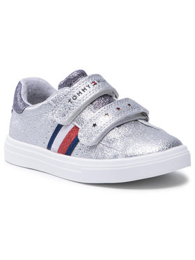 Tommy Hilfiger Tommy Hilfiger Sneakers Low Cut Velcro Sneaker T1A4-31012-0621939 S Argent