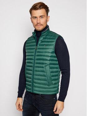 Tommy Hilfiger Tommy Hilfiger Vesta Packable Down Vest MW0MW14607 Zelená Regular Fit