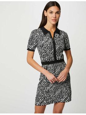 Morgan Morgan Sukienka dzianinowa 212-RMLINDA Czarny Regular Fit