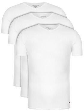 Tommy Hilfiger Tommy Hilfiger Súprava 3 tričiek Vn Tee Ss 3 Pack Premium Essentialis 2S87903767 Biela Regular Fit