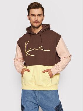 Karl Kani Karl Kani Bluza Signature 6093657 Brązowy Regular Fit