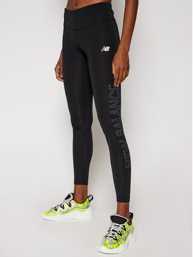 New Balance New Balance Leginsai WP01214 Juoda Slim Fit