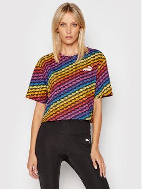 Puma Puma T-shirt Pride Aop Tee Wmns 587233 Šarena Relaxed Fit