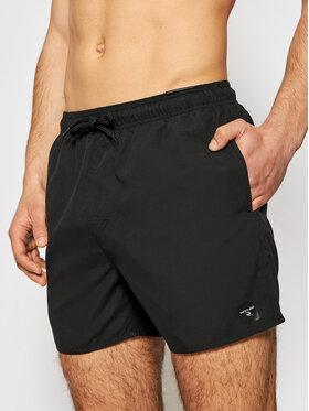 "Rip Curl Rip Curl Plavecké šortky Offset 15"" Volley CBOLQ4 Čierna Regular Fit"