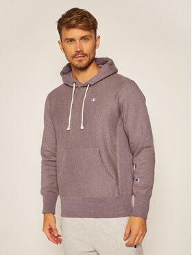 Champion Champion Sweatshirt Jaspé C Logo 214941 Violett Custom Fit