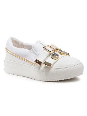 Eva Minge Eva Minge Sneakers aus Stoff EM-41-09-001074 Weiß