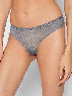 Calvin Klein Underwear Calvin Klein Underwear String 000QF5244E Gris