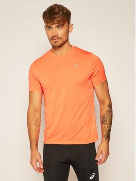 New Balance New Balance Тениска от техническо трико Revit Cool MT91920 Оранжев Athletic Fit