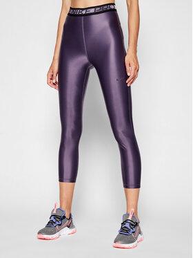 Nike Nike Legíny Pro DA0570 Fialová Tight Fit