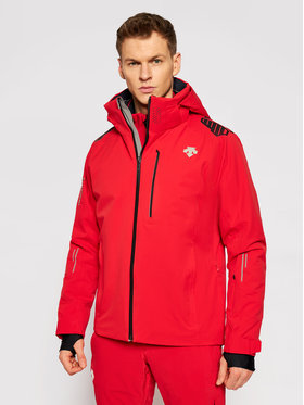 Descente Descente Lyžařská bunda Breck DWMQGK09 Červená Tailored Fit
