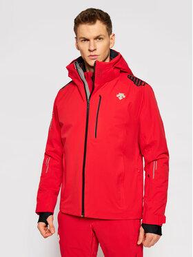 Descente Descente Sídzseki Breck DWMQGK09 Piros Tailored Fit