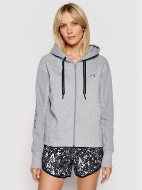 Under Armour Under Armour Mikina Ua Rival Fleece Embroidered 1362419 Sivá Loose Fit