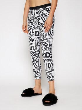 Dsquared2 Underwear Dsquared2 Underwear Colanți D8N473270 Alb Slim Fit