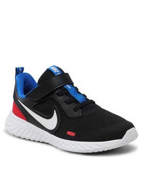 Nike Nike Обувки Revolution 5 (PSV) BQ5672 020 Черен