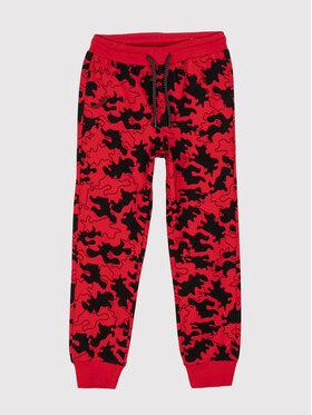 Coccodrillo Coccodrillo Pantaloni da tuta ZC1122701MRS Rosso Regular Fit