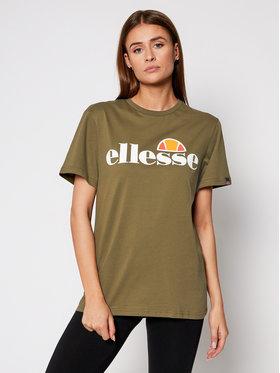 Ellesse Ellesse Marškinėliai Albany SGS03237 Žalia Regular Fit